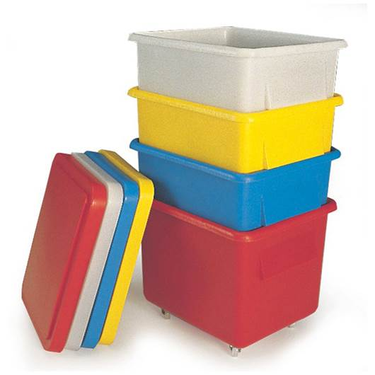Picture of Nesting Mobile Container with Lid
