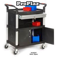 Picture of Proplaz Shelf Trolleys with Drawers & Cupboards