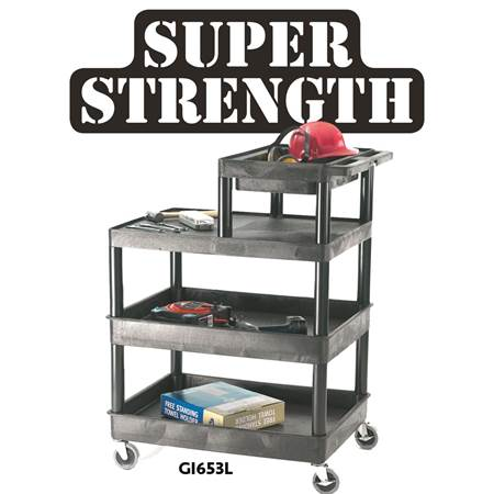 Picture for category Multi Purpose Trolleys with half top tier