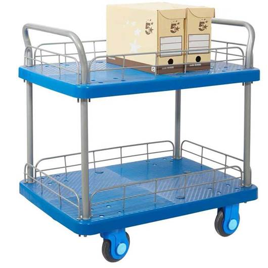 Picture of Proplaz Super Silent Two Tier Trolley with Wire Surround